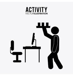 Activity icon design vector