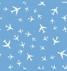 Airplane seamless pattern background eps10 vector