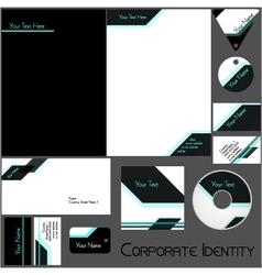 Corporate identity template vector