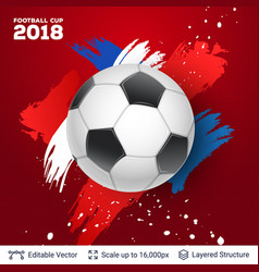 Fifa world cup 2018 banner concept vector