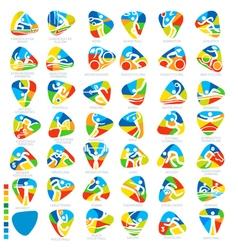 Olympics Icon Pictograms Set 1 vector