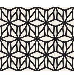 Seamless Black and White Rounded Lace vector image