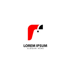 Unique shopping logo design icon vector