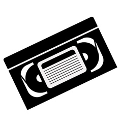 video cassette tape vector image vector image