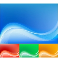 blue abstract composition background vector image vector image