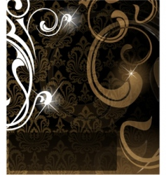 vector brown abstract background vector image