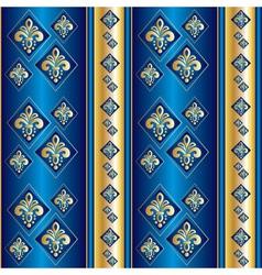 silk blue wallpaper vector image