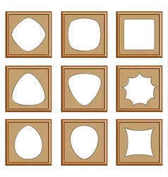 frame mix style vector image