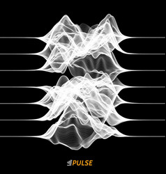 Abstract wave signal vector