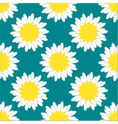 Camomile Pattern vector