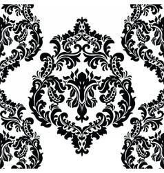 Damask Royal ornament element vector