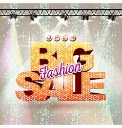Fashion big sale vector