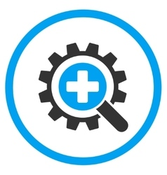 Find Medical Technology Rounded Icon vector