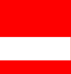 flag of indonesia flag with official vector image