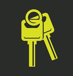 Keys design vector