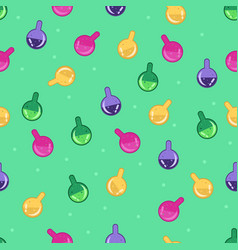 magic potion pattern vector image