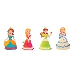 Princess character vector