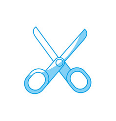 Scissors tool icon vector