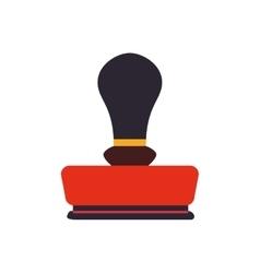 Seal office machine label antique icon vector