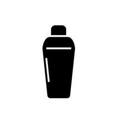 thermos icon black sign on vector image