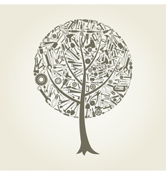 Tree the tool vector