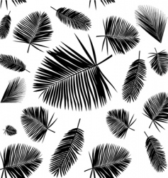 Tropical leaf vector