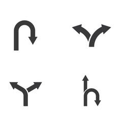 way icon design vector image