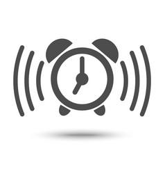 alarm clock ringing icon vector image
