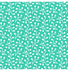 Ditsy floral pattern with small white flowers vector image
