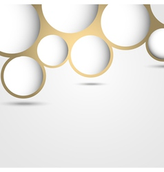New design abstract bubble background vector image vector image