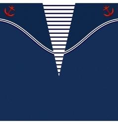 Blue Frock Printable Backround vector image