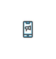 add icon line design e commerce icon vector image