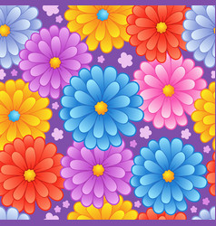 Flowery seamless background 4 vector