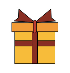 Gift box icon image vector