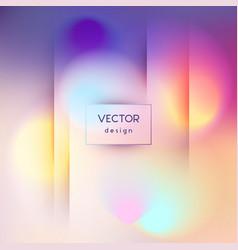 modern blurred wave background vector image