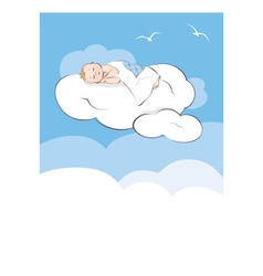 Sweet dream vector image