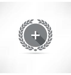 plus icon vector image