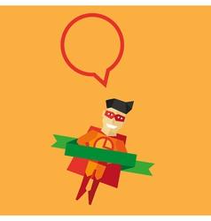 Pizza Man logo vector image