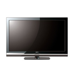 modern lcd flat screen vector image vector image