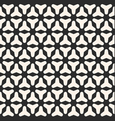 Black white smooth geometric figures vector