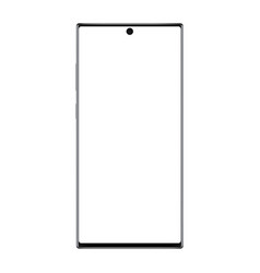 modern frameless smartphone mockup vector image