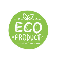Organic product icon design symbol badges vector