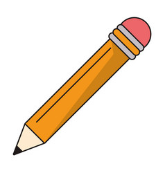 Pencil supply writing idea vector