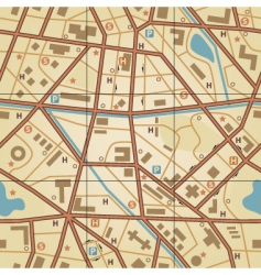 map tile vector image vector image