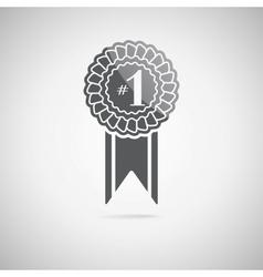black award icon vector image vector image