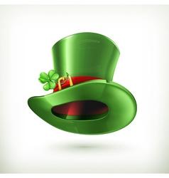 Leprechaun Hat icon vector image vector image