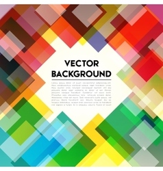 Background Rainbow Text vector image