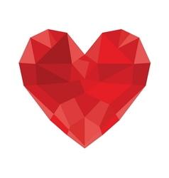 HEART SHAPE6 resize vector image vector image