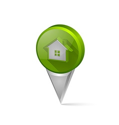 House pointer vector image