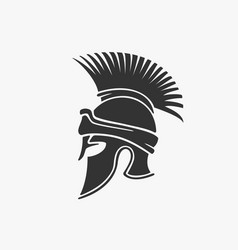 Ancient military helmet vector